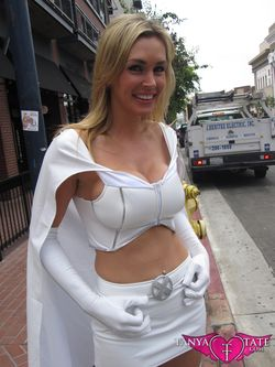 Tanya Tate Sexy Emma Frost Movie Cosplay Marvel Comics X-men First Class Model Female Girl Woman64