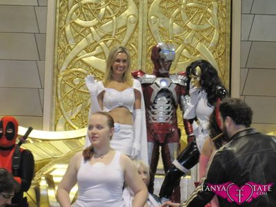 Tanya Tate Sexy Emma Frost Movie Cosplay Marvel Comics X-men First Class Model Female Girl Woman41