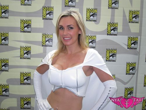 Tanya Tate Sexy Emma Frost Movie Cosplay Marvel Comics X-men First Class Model Female Girl Woman59