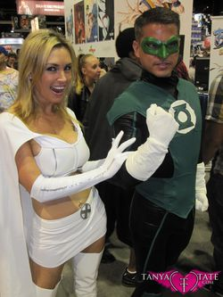 Tanya Tate Sexy Emma Frost Movie Cosplay Marvel Comics X-men First Class Model Female Girl Woman52