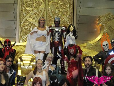 Tanya Tate Sexy Emma Frost Movie Cosplay Marvel Comics X-men First Class Model Female Girl Woman42