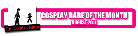 Tanya Tate comics Ninja Cosplay Babe of the Month