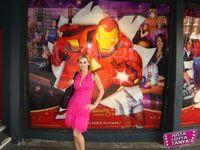 Tanya Tate, Madame Tussauds, Justa Lotta Tanya, JustaLottaTanya.com, Madame Tussauds, Nick Fury, Susan Storm, The Hulk, Iron Man, Wolverine, Marvel Superheroes 4D movie, Spider-man, Captain America, Ms. Marvel, Shield, Wax Statues, London, Marvel 3D, Marvel Comics