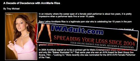 Ann Marie Rios, Interview, AMR, AnnMarieRios.com, Exclusive, Innocent Words, Chat, Playboy Radio Espanol, Las Horas Picantes, Sirius/XM 569