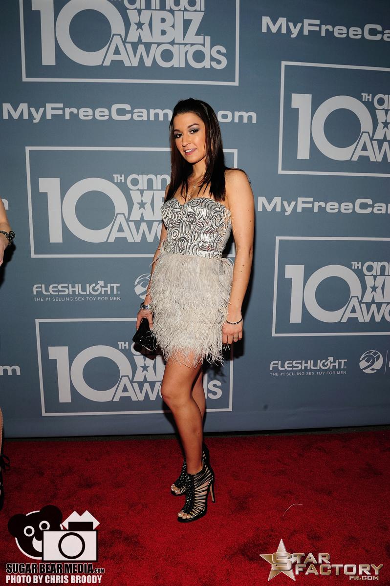 Ann Marie Rios Xbiz Awards 2012 Red Carpet09