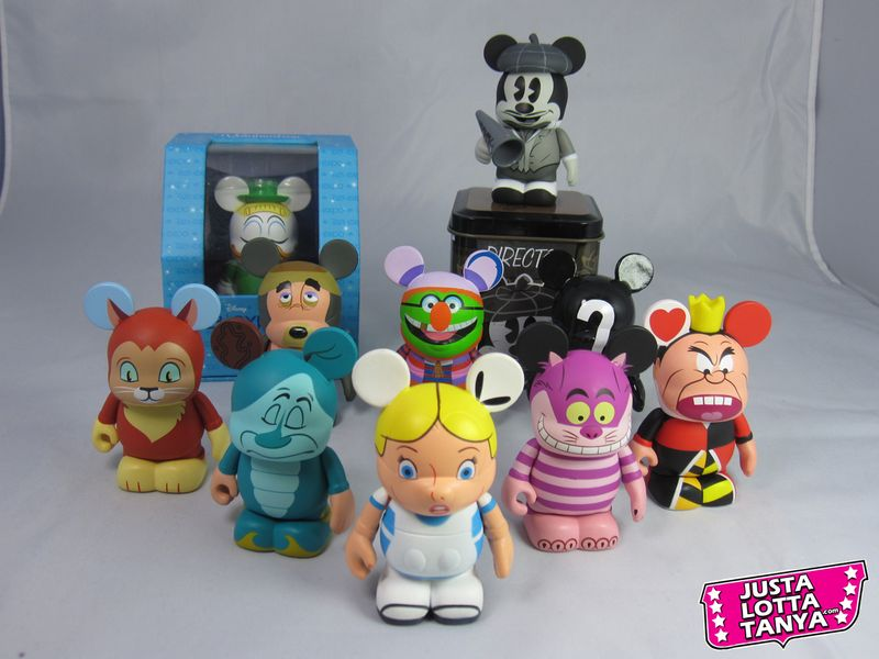 Vinylmation Trading Night Tanya Tate Disneyland Vinyl 27