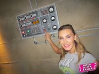 Tanya Tate™, JustaLottaTanya.com, nerd, entertainment blog, news, video reviews, Transformers, Optimus Prime, Bumble Bee, Transformers The Ride 3D, Autobots, Decepticons, Universal Studios, Los Angeles, Hollywood, TF, Entertainment, geek, Sexy Geek Girl, Fangirl, Thrill ride, Video, Hasbro, Michael Bay, Transformers Trilogy, Blu-ray, Collectible, Collector