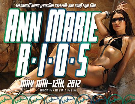 Ann Marie Rios, AMR, Spearmint Rhino, Adult Star, Pornstar, Model, Latina, Playboy Radio, Gentlemen's Club, Striptease, Sexy, Appearance, Naughty, Stripper,