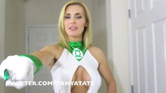 Green Lantern, Superhero, Green Lantern Oath, Comic Book, DC Comics, DC Universe, Tanya Tate, Cosplay, Sexy Superhero, Sexy Geek Girl, Video Tanya Tate, Entertainment