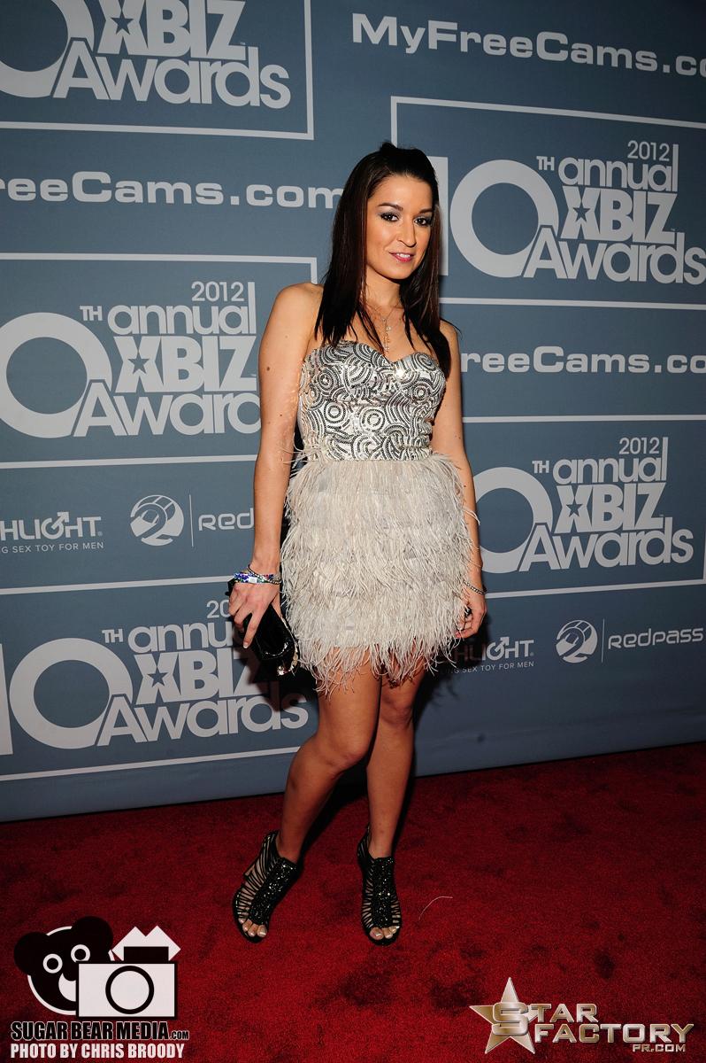 Ann Marie Rios Xbiz Awards 2012 Red Carpet06