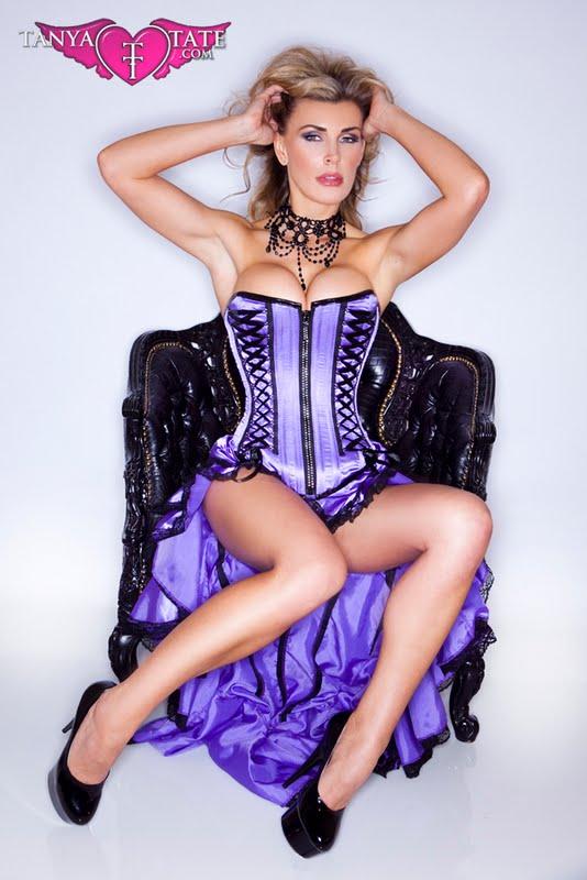 Tanya Tate Purple Corset