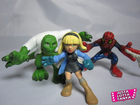 Amazing Spider-man, Peter Parker, Lizard, Gwen Stacey, Marvel Universe, Marvel Movies, Marvel, Comic Books, Super Hero Squad, Super Hero, Collectible, Sexy Geek Girl, Tanya Tate, Action Figure