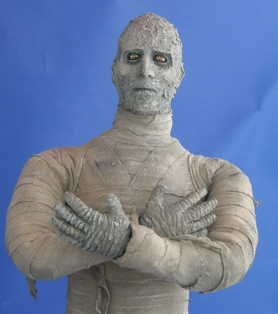 Hammer Horror, The Mummy, Christopher Lee, Peter Cushing, Collectible Toy, Action Figure, Horror, Distinctive Dummies, 12 inch figure, 1/6th scale, entertainment, JustaLottaTanya, Tanya Tate, Figure, Announcement, Pre-order, Images