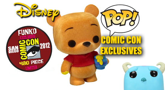 Disney, Funko, Pop Vinyl, Figure, Collectible, Exclusive, San Diego Comic Con, SDCC, Tanya Tate, Sexy Geek Girl, Pictures, Cheshire Cat, Winnie The Pooh, Pooh Bear, Metallic, Limited, Sulley, Boo, Monsters Inc, Fantasia, Mickey Mouse, Chernabog, Muppets, two pack, three pack, POP, 480, Flocked, entertainment, figures