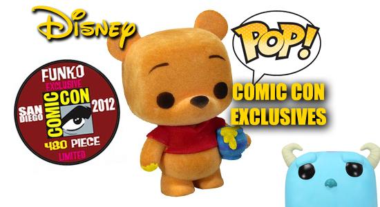 Disney Pop Vinyl SDCC Exclusive