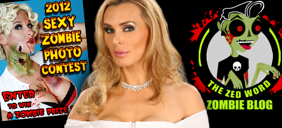 2nd Annual Sexiest Zombie Photo Contest, Tanya Tate, Sexy geek girl, Cosplay Queen,  Zedwordblog.com, Geek News, Horror News, Contest, Cosplay, Zombie, Horror, HollywoodGoneGeek, Entertainment