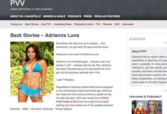 PVV Online Adrianna Luna