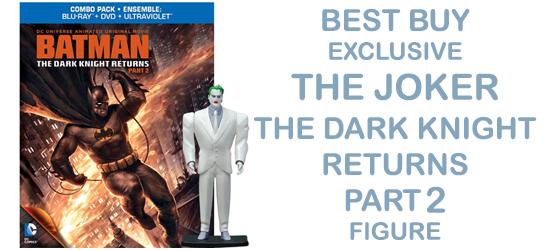 Home Media Batman Dark Knight Returns Best Buy Exclusive BluRay JOKER