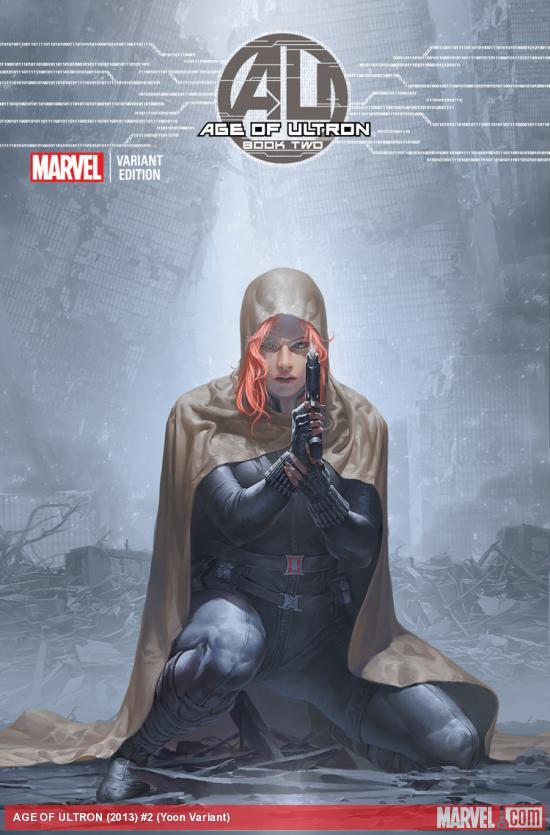 Age of Ultron 2 Yoon Variant Marvel Comics 2013
