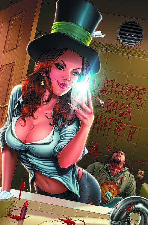 Grimm Fairy Tales Presents Madness of Wonderland Vol 1 2 2013
