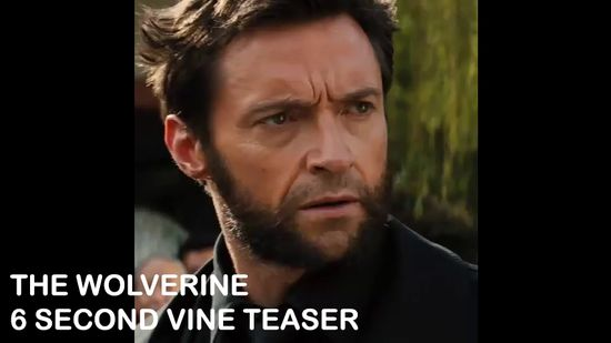 The Wolverine, James Mangold, Marvel, 20th Century Fox, Vine, Social Media, 6 Second Teaser, Trailer, Hugh Jackman, Jean Grey, Logan, Silver Samurai, Spoiler, Reveal,  X-men