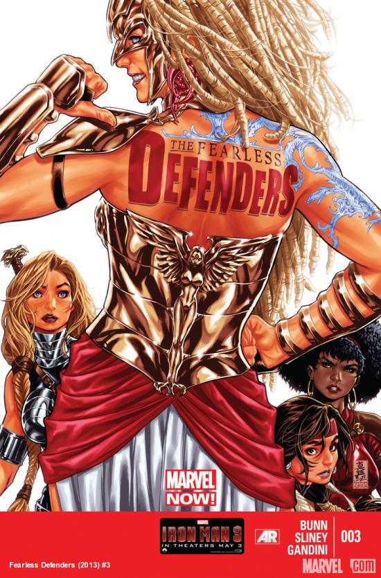 Fearless Defenders Marvel Comics 003 Cover