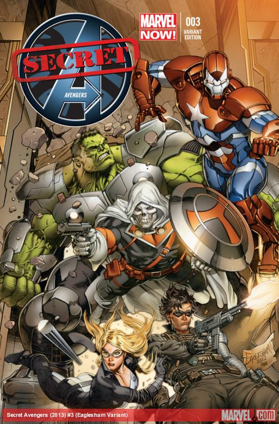 Secret Avengers Marvel Comics Cover 003