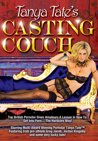 Tanya Tates Casting Couch DVD Front Cover