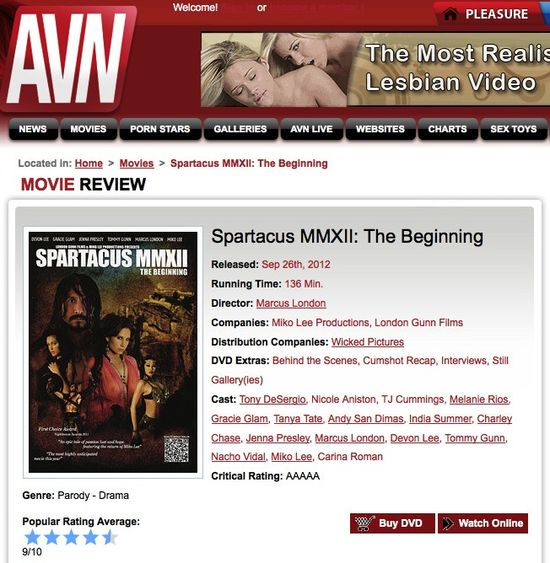 AVN_Review_SpartacusMMXII