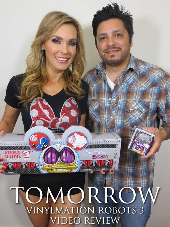 Tanya Tate, Geek, Entertainment, @TanyaTate, JustaLottaTanya, video review, disney, vinylmation, robots 3, collectible, vinyl figures, vinyl, action figures, toy, Sexy, Geek, Nerd, Fangirl, review, News, Fandom, Phil, tomorrow
