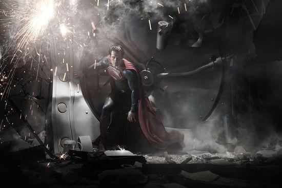 Superman, Man of Steel, Poster, Handcuffs, Chains, Jail, June 14th, Teaser, Kal El, Zack Snyder, Henry Cavill, Marketing, Movie News, Geek, Entertainment, DC Comics, Superhero, Wb, Warner Bros