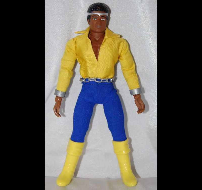 Luke Cage Power Man Action Figure 12 Days Sweet Christmas 21