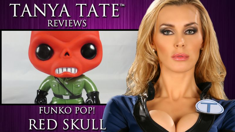 Tanya Tate Video Card FUNKO POP RED SKULL Review
