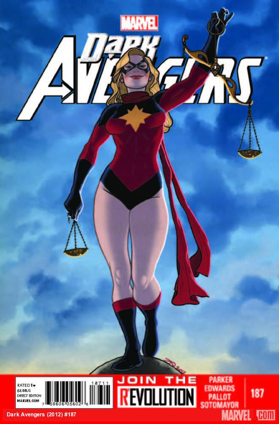 Tanya Tate, @TanyaTate, JustaLottaTanya, Cool Comic Book Covers, Superheroes, Top  5, Sexy, Sexy Geek Girl, Fandom, Fangirl, DC Comics, Marvel Comics, Collectible, Entertainment  Dark Avengers 187 Marvel Comics JLT 2013