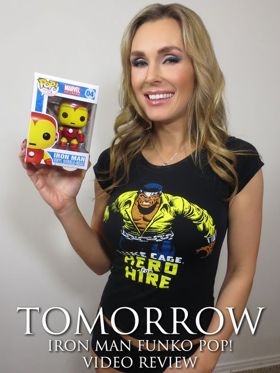 Iron Man, Iron Man 3, Marvel Comics, Tanya Tate, @TanyaTate, JustaLottaTanta, Sexy Geek Girl, Captain America, Vinyl Figure, Funko, Pop, Bobblehead, Review, Villain, Superhero, Collectible,  Entertainment, Geek, Fandom, Nerd, Comic Books, Action Figure, Fangirl