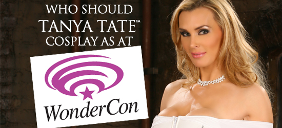 @TanyaTate, comic con, Cosplay, Entertainment, Fangirl, geek, JLT, Justa Lotta Tanya, nerd, Sexy, Sexy Geek Girl, superhero, Tanya Tate, Wondercon