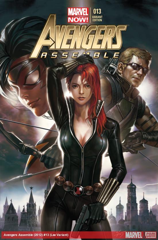 Avengers Assemble 13 Lee Variant Marvel Comics 2013