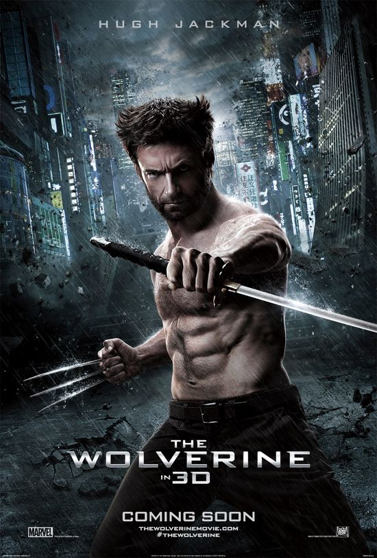 Hugh Jackman, The Wolverine, International Movie Poster, Promo, Poster, Samurai, Sword, Claws, Marvel, 20th Century Fox, Xmen, Sequel, Reveal, Teaser