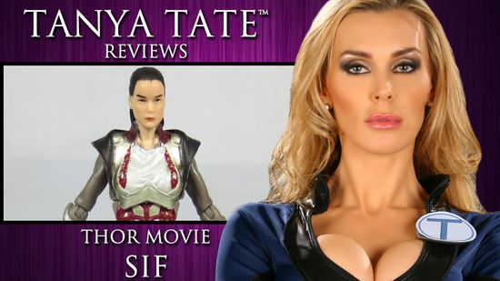 Tanya Tate, @TanyaTate, JLT, Justa Lotta Tanya, Action Figure Review, Toy Review, Sif, Thor, Marvel, Thor Movie, Action Figure, Sexy, superhero, Comic Book, Entertainment, Marvel Comics
