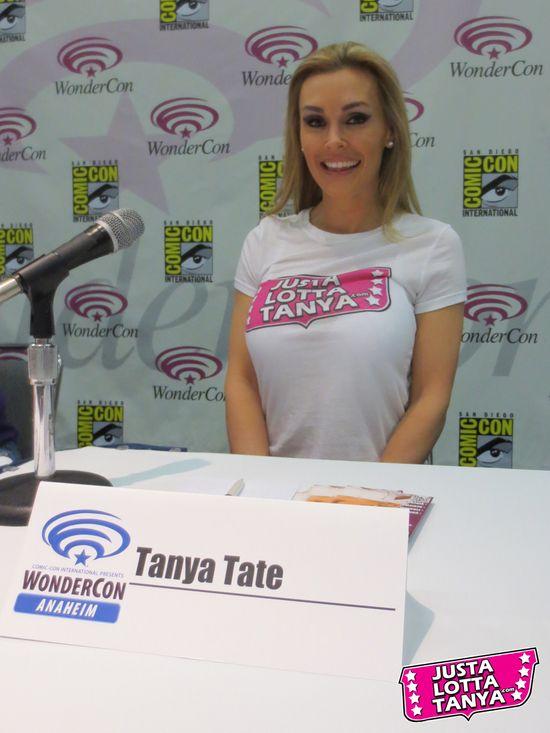 Tanya Tate, @TanyaTate, Justa Lotta Tanya, JLT, Wondercon, Event, Sexy Geek Girl, Cosplay, Hot, Fangirl, How To Get News Coverage, Seminar, Blogger, 2013