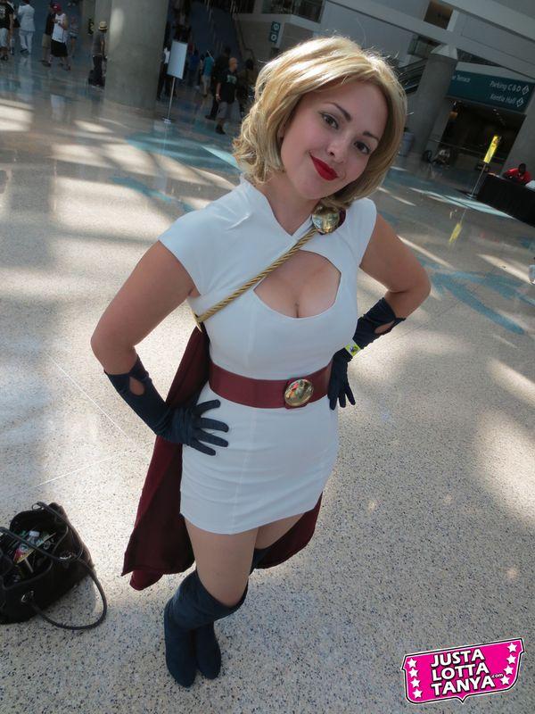 Comikaze Cosplay Pix Dc Comics Sexy Superhero Power Girl -2015