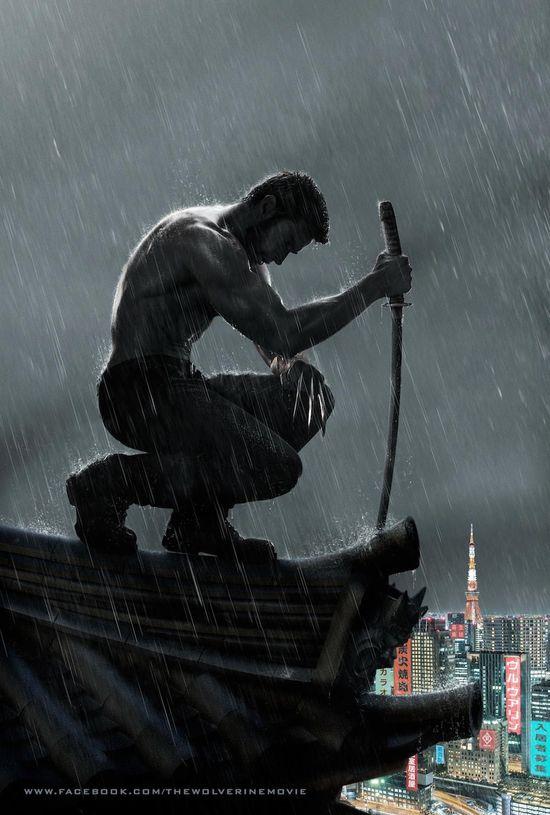 Wolverine, Marvel Comics, Marvel Movies, X-men, Hugh Jackman, The Wolverine, Entertainment, Geek News, Hollywood Gone Geek, HGG, @HwoodGoneGeek, Teaser Image, Black Suit, Nerd, Motion Poster, Video