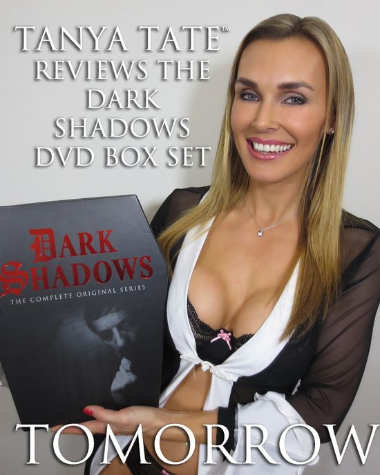 Tanya Tate, JLT, JustaLottaTanya, Fangirl, Sexy Geek Girl, Coffin, Dark Shadows, DVD Box Set, Horror, Soap Opera, Barnabas Collins, Complete Series, Horror, Drama, Collectible, Fandom, Entertainment, Video review, DVD review, MPI Home Video