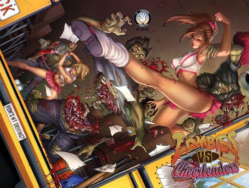 Zombies vs Cheerleaders 1 3 Finger Prints 2013