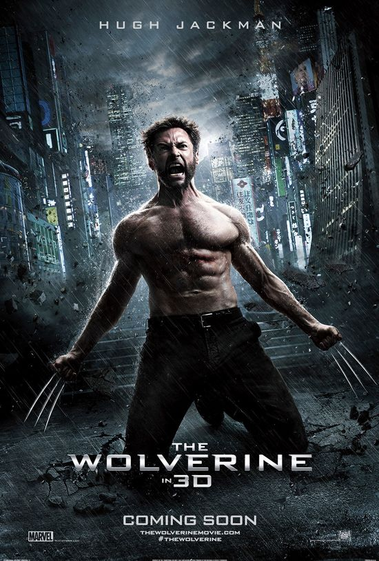 Hugh Jackman, The Wolverine, International Movie Poster, Promo, Poster, Samurai, Sword, Claws, Marvel, 20th Century Fox, Xmen, Sequel, Reveal, Teaser