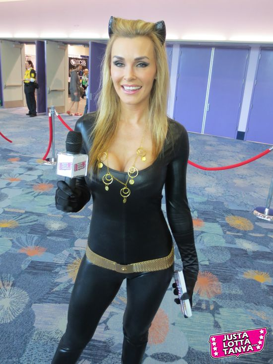 Tanya Tate, Cosplayer, Julie Newmar, Catwoman, Wondercon, Event, Sexy Geek Girl, JLT, Justa Lotta Tanya, Cosplay, Hot, Fangirl, Villain, Dc Comics, Batman, Television Show