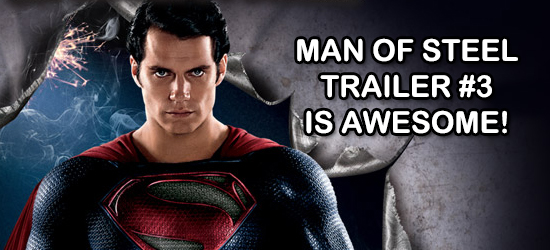Superman, Man of Steel, Henry Cavil, Zach Snyder, Warner Bros, Dc Comics, Superhero, Zod, Villain, Trailer, New, Teaser, MOS, 3, Leaked, Posted, Video, News, Entertainment, Comic Book