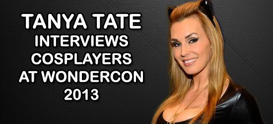 Tanya Tate, Cosplay, Wondercon, 2013, Comic Con, Hollywood Gone Geek, @HwoodGoneGeek, HGG, Julie Newmar, Catwoman, Video