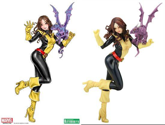 Kotobukiya Bishoujo Marvel Comics Kitty Pryde Statue 00