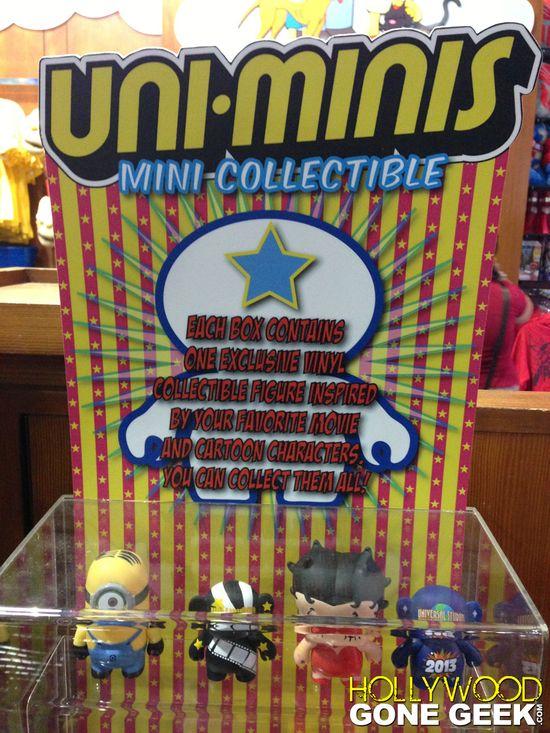 Uni-Minis Universal Studios Vinyl Hollywood Gone Geek 00